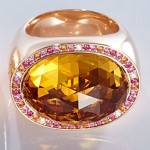 CADEAUX JEWELRY Ring Carnival Citrine - 1