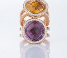 """CADEAUX JEWELRY Ring """"Oh Vienna!"""" at Central International Watch Fair"""