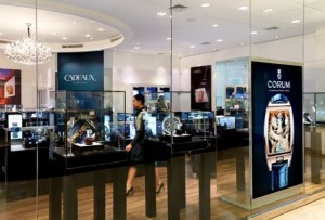 CADEAUX JEWELRY Grand Opening 150715 Shop Interior Corum