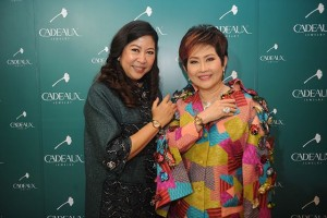 Khunying Nattika Wattanavekin, President of Thailand Federation of Business And Professional Women Association under Royal Patronage of Her Majesty the Queen and Dr. Soipetch Resanond