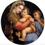 Raphael Madonna della Sedia - 1