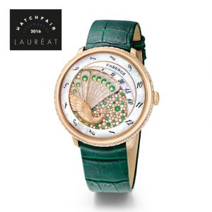Faberge Lady Compliquee Peacock Emerald