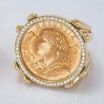 Coins | Ring Helvetia Diamonds