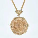 Coins | Pendant Swiss Helvetia