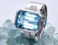 Ring SENSE Aquamarine