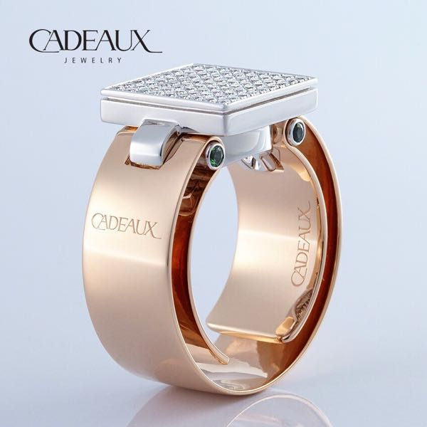 CADEAUX JEWELRY | Ring SENSE Koeln | © Cadeaux Jewelry Modular Concept