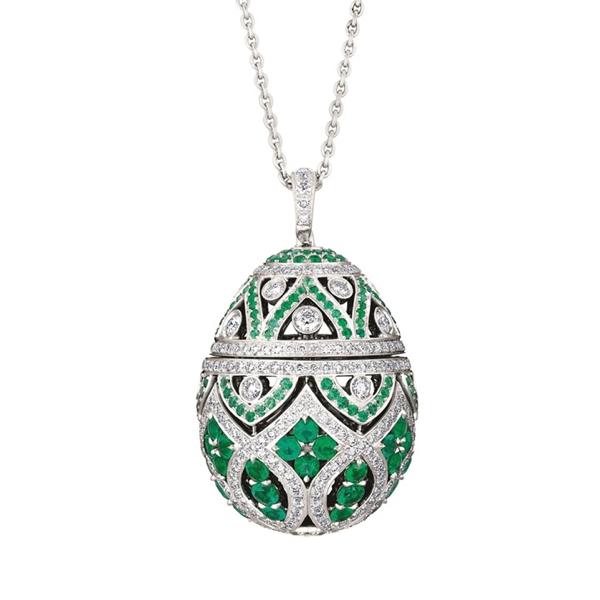 FABERGÉ | Imperial Zenya Emerald Pendant